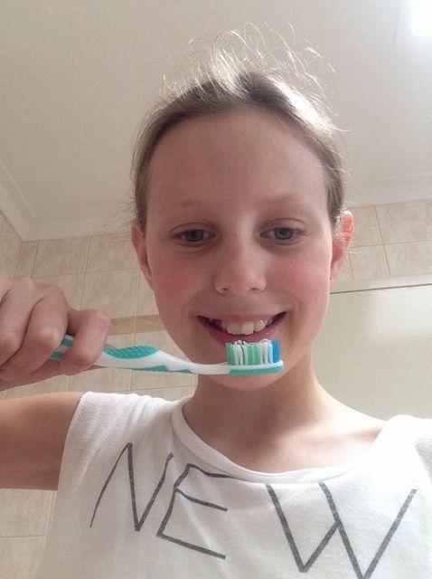 Cómo cepillarse los dientes ??????