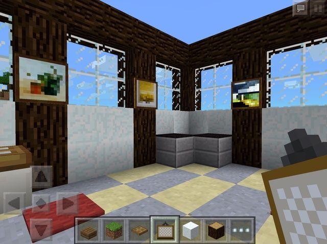 Cómo construir un cuarto de baño en Minecraft: PE Edición