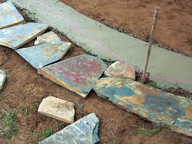 Fotografía - ¿Cómo construir un patio de grava bordeado