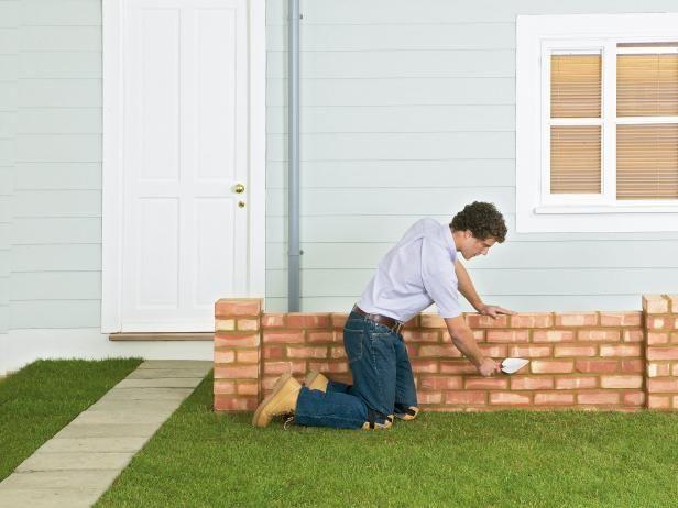 Fotografía - ¿Cómo construir un muro del jardín ladrillo