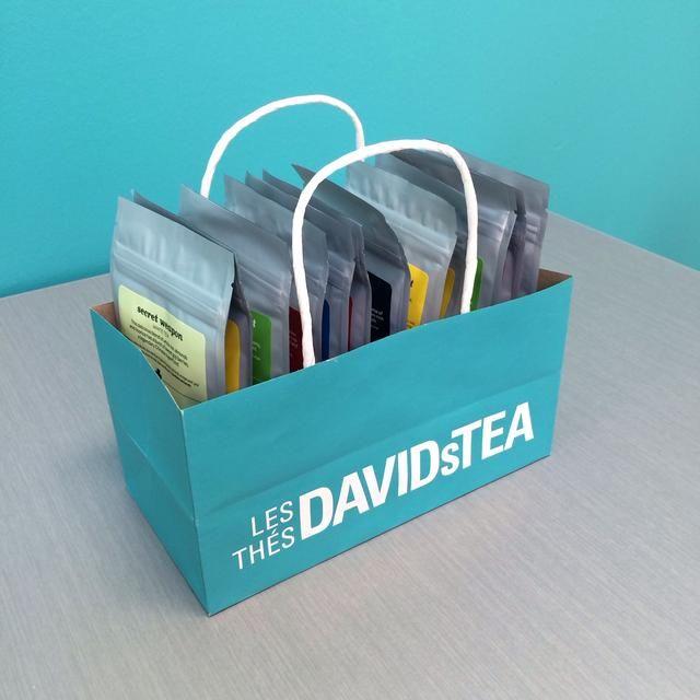 Ahora llenar el soporte con su colección de té y disfrutar!