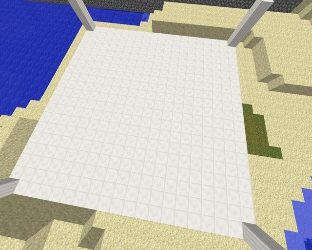 Construir cuarto en el área de 20x20