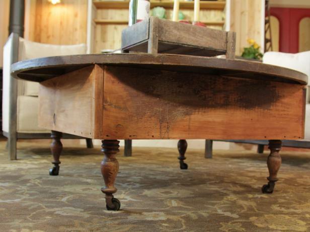 Fotografía - ¿Cómo construir una mesa de centro de madera recuperada