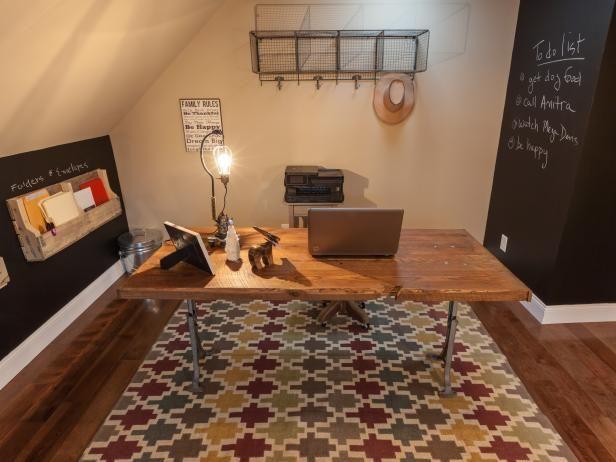 Fotografía - ¿Cómo construir un escritorio de oficina de madera recuperada