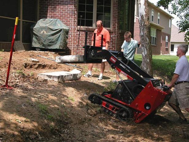 Fotografía - ¿Cómo construir un muro de contención de una terraza