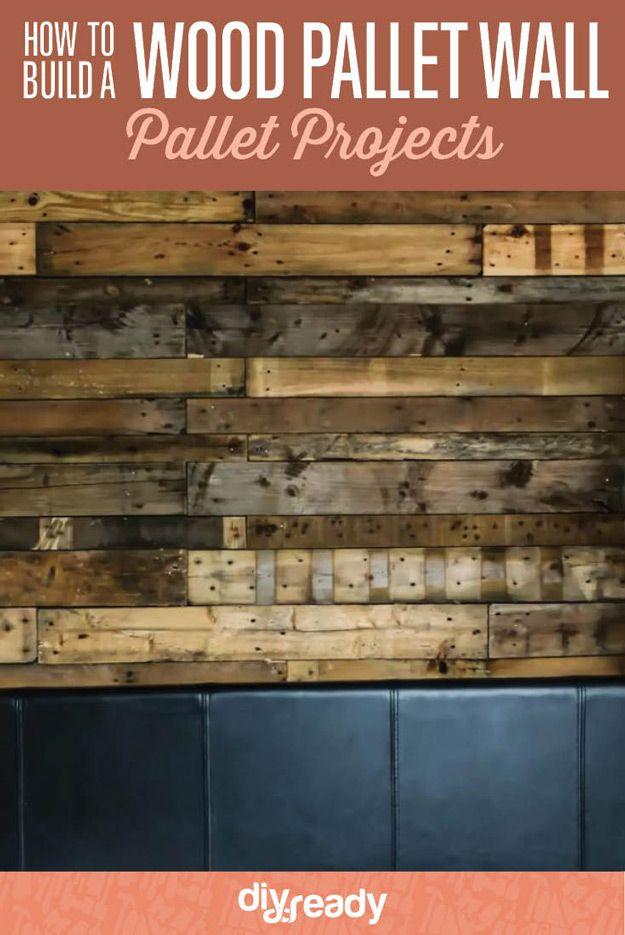 Fotografía - Cómo construir una pared de madera de palets