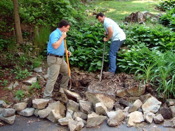 Fotografía - ¿Cómo construir muros de los jardines escalonados