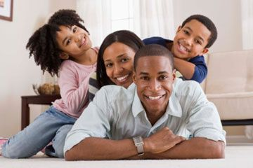 padres con niños pequeños
