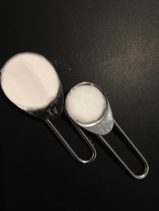 2tsp el polvo de hornear y la sal 1 cucharadita
