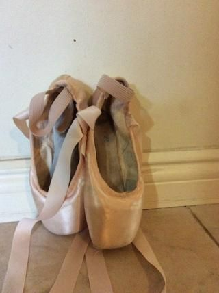 Don't go on your block (top of pointe shoe) while on carpet or your ends will fray.