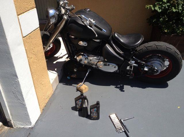 Fotografía - Cómo cambiar el aceite en una motocicleta