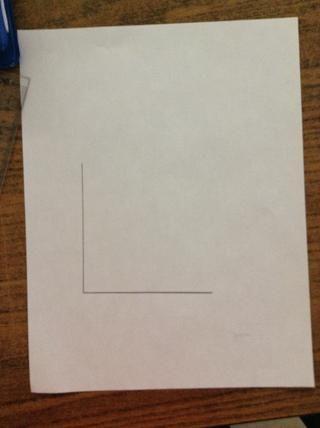 Étape 2.Dessine une ligne à la pelea chaque à vertical (10 cm).