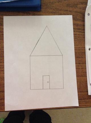 Étape 6.Dans le rectángulo, Ajoute ONU cercle petit au milieu, à droite verter faire la poignée.