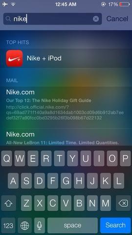 Y puesto que la aplicación de ISN't deleted, only hidden, you can always search for it from the spotlight search.
