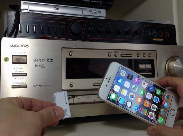 Música Transmisor Transmisor / FM para iPhone no requiere la aplicación o instalación complicada. Funciona en cualquier radio FM. Es la configuración perfecta para conectar el iPhone a cualquier equipo de música antigua.