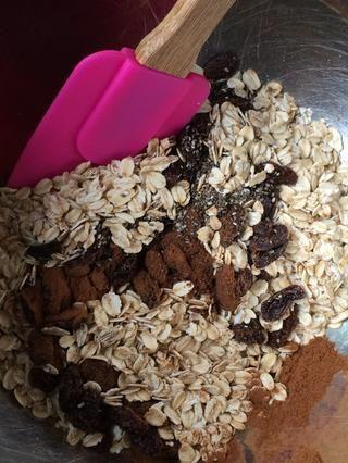Mezcle los ingredientes secos