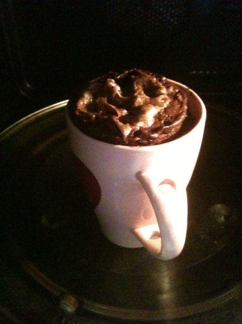 Cómo cocinar un 5 minutos Muffin en una taza :) Receta