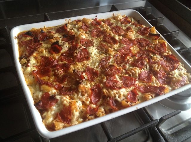 Cómo cocinar una pasta horneado rápido con carne picada y chorizo Receta
