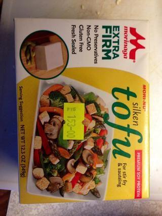 Yo prefiero tofu en lugar de huevos