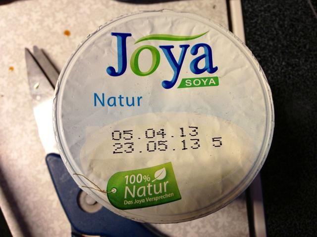 Puede blanquear su sopa con crema agria, yogur o yogur de soja
