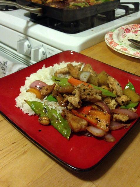 Cómo cocinar piña asombrosa Teriyaki Stirfry Receta