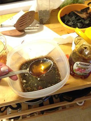 Añadir 1 cucharada de miel.
