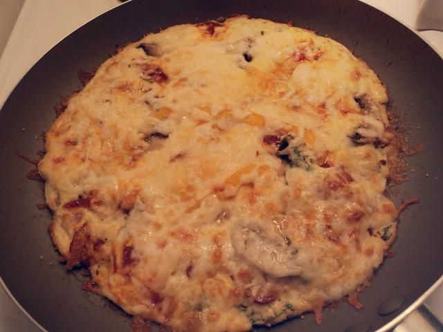 Retirar del horno, una vez que es bueno y tostado. (Cuando el queso comienza a parecer de oro, debería estar bien)