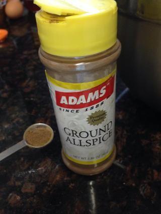 Sólo una pizca de pimienta, añadir a los ingredientes secos.