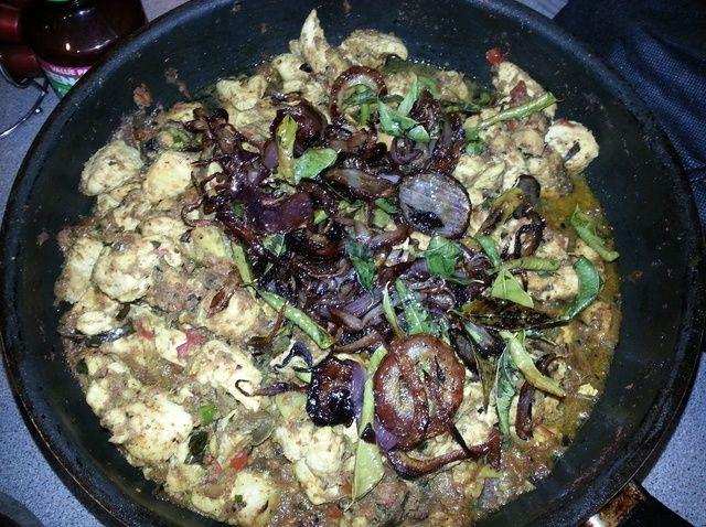 Cómo cocinar Aromático Malabar pollo al curry Receta