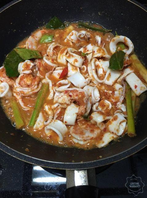 Cómo cocinar Assam Gamba Con Receta Squid