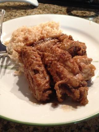 Servir con arroz al vapor. ¡¡¡Disfrutar!!!