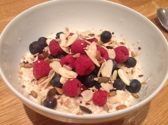 Cómo cocinar Bircher Museli #Healthyeating Receta