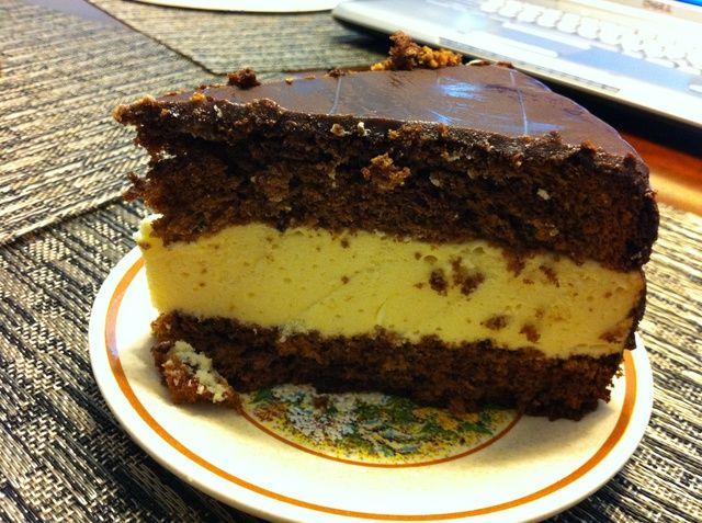 Pastel dulce delicioso. ☺