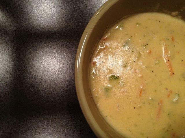 Cómo cocinar Brócoli Queso Sopa Receta
