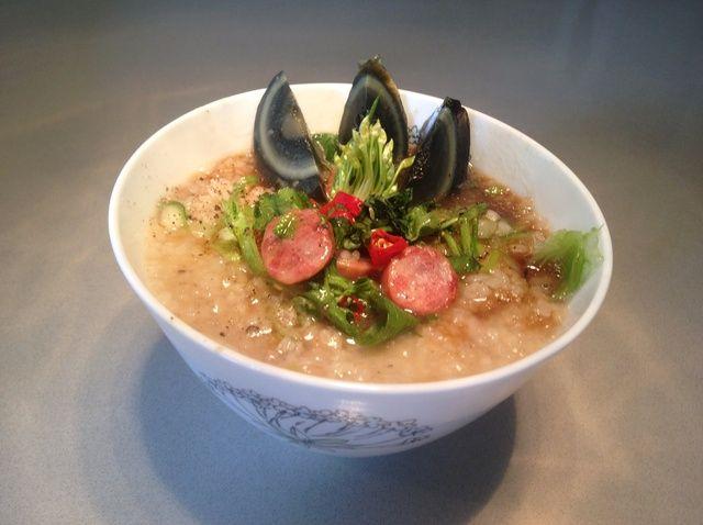 Cómo cocinar Broken Rice Congee Con Receta Salchicha china