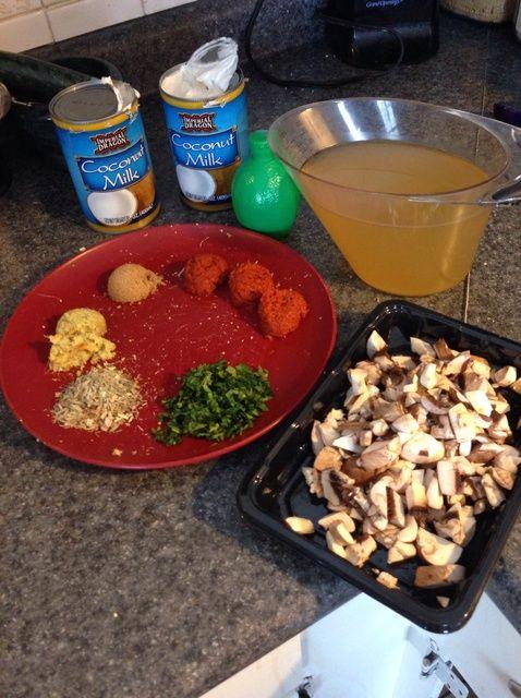 Cómo cocinar BS (Burgoon-Speer) Leche de coco Receta de la sopa