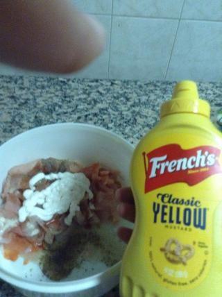 Añadir una cucharada de pasta de mostaza