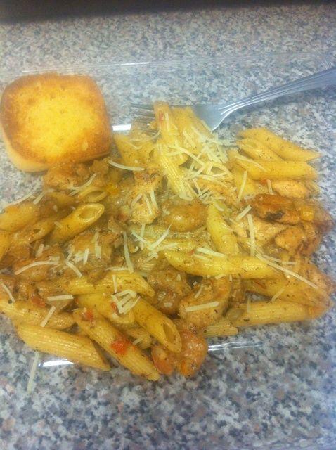 Cómo cocinar pollo cajún Pasta y Camarones Receta