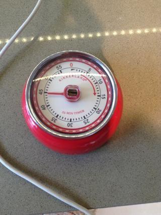 Ajuste el temporizador de 45 minutos ... Tiempo garrapatas rápido !!!