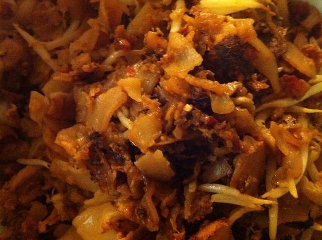 Servir caliente. Se puede comer tal cual o con un poco de Olek sambal en el lateral. Yummo.