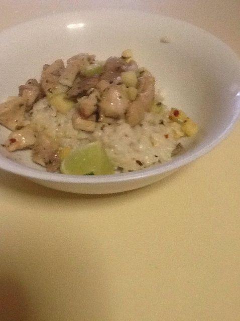 Cómo cocinar pollo lima y menta con la receta de coco Arroz
