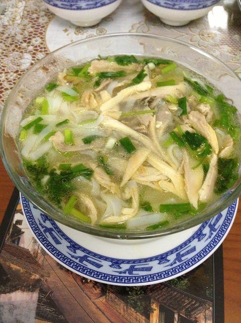 Cómo cocinar pollo Pho (Pho Ga) la receta de Hanoi Camino