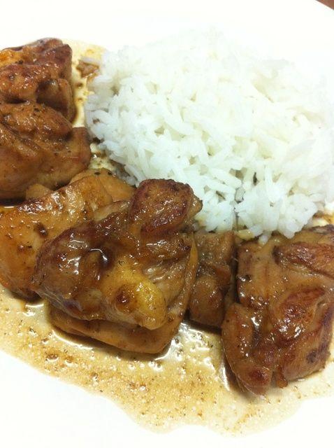 Cómo cocinar pollo teriyaki (a la plancha) ?????? Receta