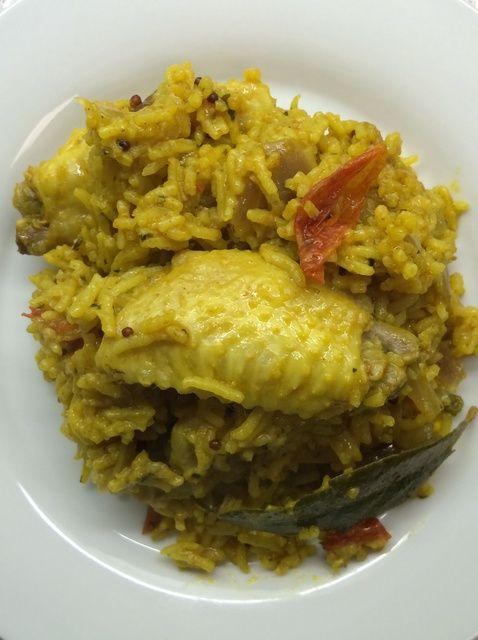 Cómo cocinar la receta de ala de pollo del arroz
