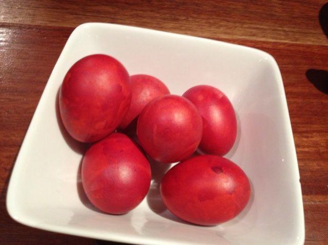 Cómo cocinar Huevos rojos chinos Receta