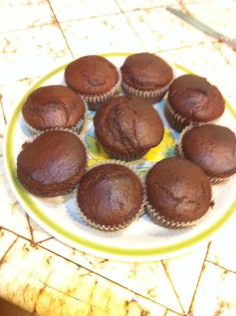 Cómo cocinar chocolate Muffins como una receta Champ