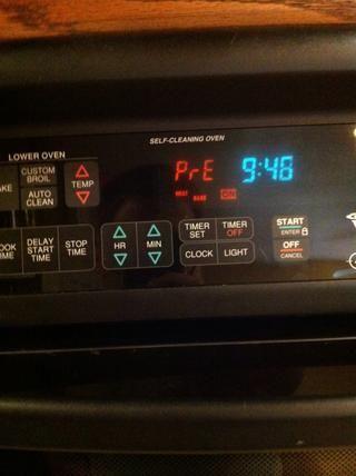 Precaliente el horno a 400F