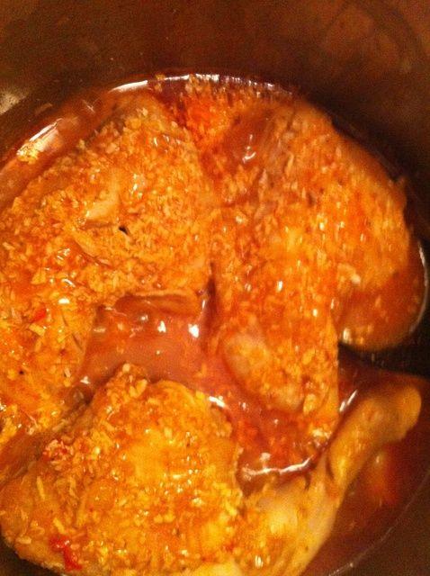 Cómo cocinar coco Pollo De Kenia Receta