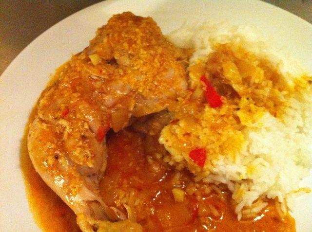 Servir con arroz y disfrutar!