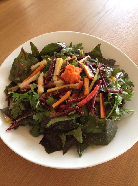 Cómo cocinar la receta de ensalada de zanahoria colorido